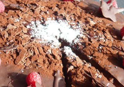 Himbeer-Schockoladen Kuchen