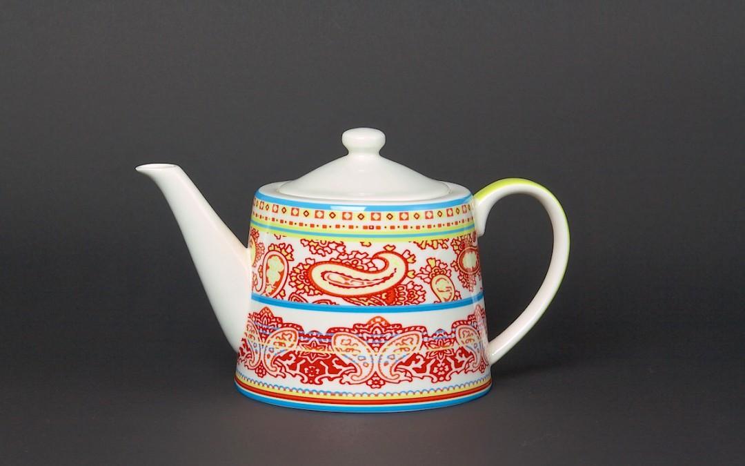 Teekanne bunter Orient