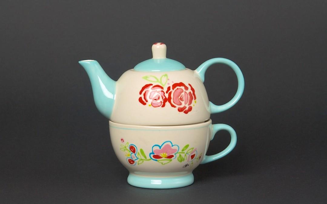 Tea for One Set Rose